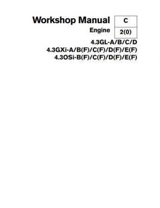 Volvo Penta 4.3 Engine Service Manual