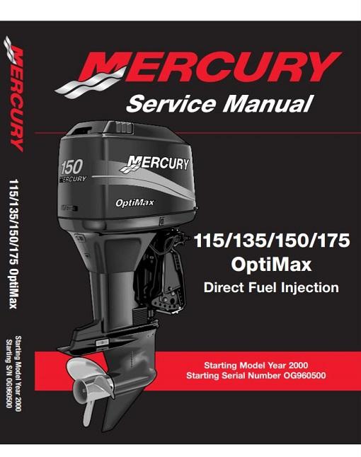Mercury OptiMax 115 /135/ 150/ 175 Outboard Service Manual