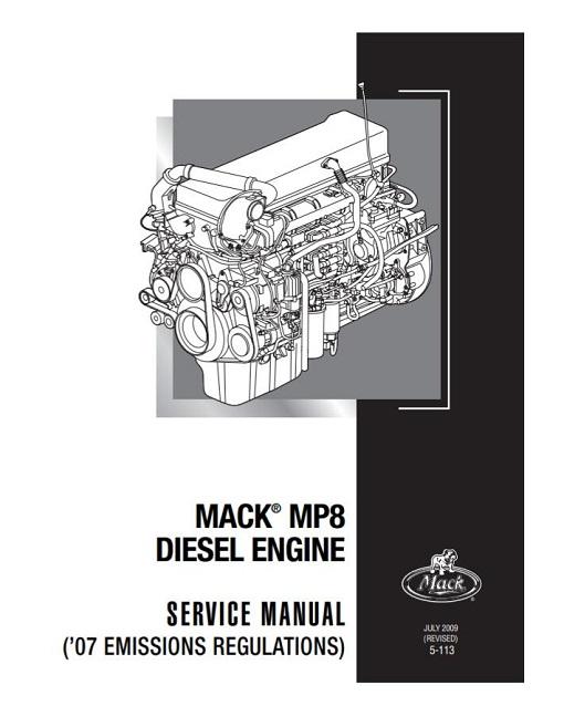 2009 Mack MP8 Diesel Engine Service Manual