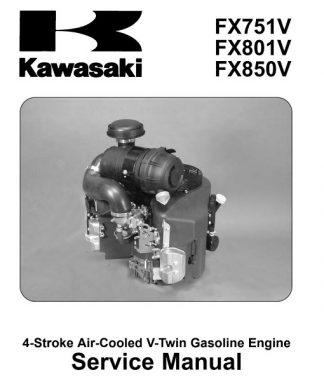 Kawasaki FX751V,FX801V,FX850V Service Manual