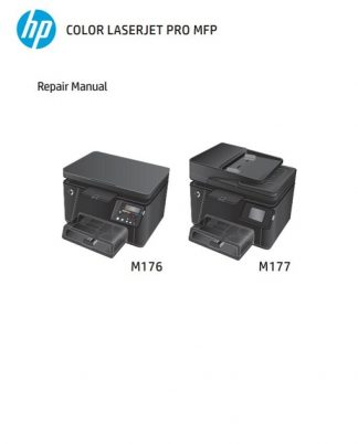 HP Color LaserJet Pro MFP M176, M177 Service Manual