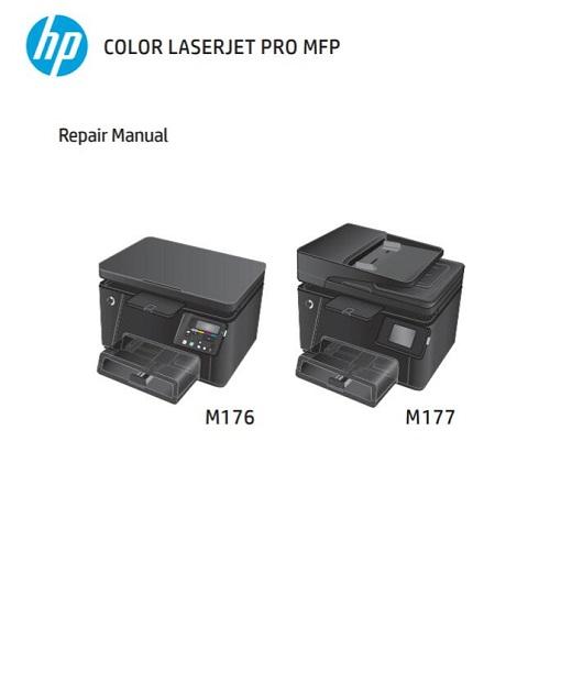 HP Color LaserJet Pro MFP M176, M177 Service Manual