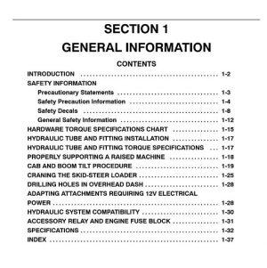 New Holland L565 LX565 LX665 Loaders Service Manual