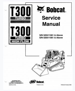 Bobcat T300 Turbo Service Manual