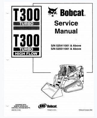 Bobcat T300 Turbo Service Manual