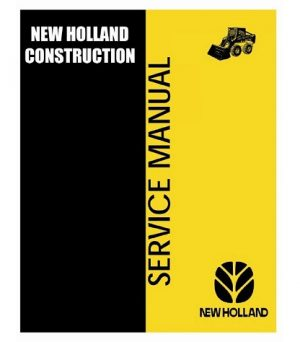 New Holland LS180 LS190 Loaders Service Manual