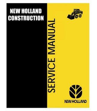 New Holland LS180 LS190 Loaders Service Manual