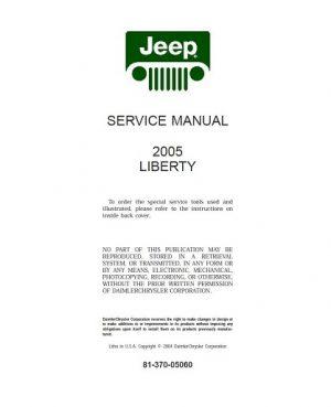 2002-2006 Jeep Liberty Service Manual