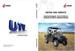 Hisun HS500 UTV Repair Manual
