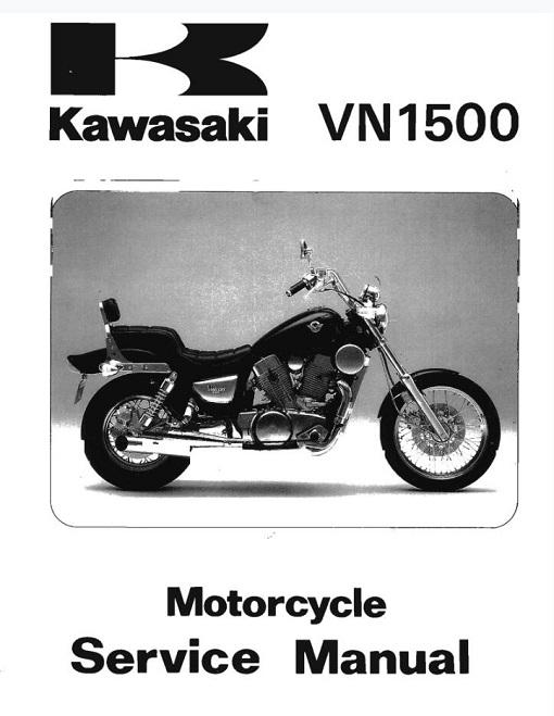 Kawasaki VN1500_87-99 Service Manual