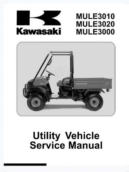 Kawasaki MULE3010 MULE3020 MULE3000 Service Manual