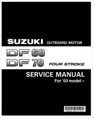 suzuki df70 service manual