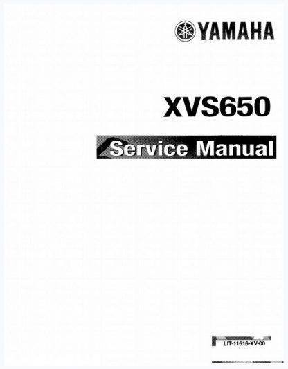 Yamaha XVS650 V-Star Service Manual