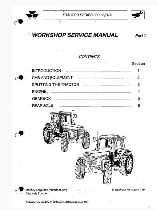 Massey Ferguson Mf3000 3100 Series Tractor.pdf