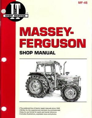 Massey Ferguson MF-45 Tractor Shop Manual