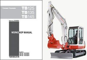 takeuchi tb135 service manual
