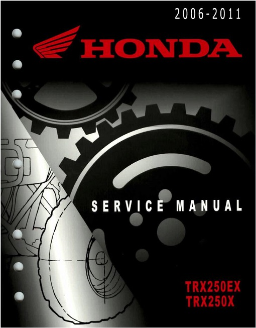 Honda Trx250ex Trx250x Service Manual