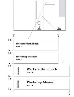 Deutz 1011F Workshop Manual