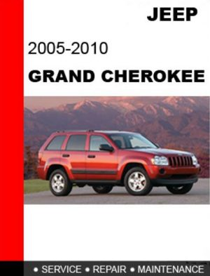 2005-2010 Jeep Grand Cherokee Service Manual