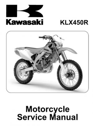 2008-2011 Kawasaki KLX450R Service Repair Manual