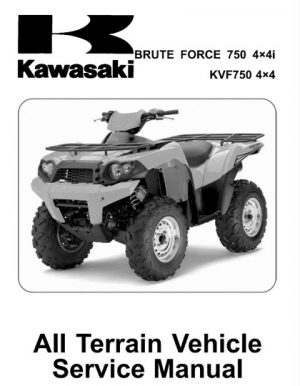 2008-2011 Kawasaki Brute Force 750 4x4i, KVF750 4x4 Service Manual