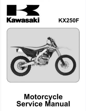 2013 Kawasaki KX250F KX250ZD Service Repair Manual