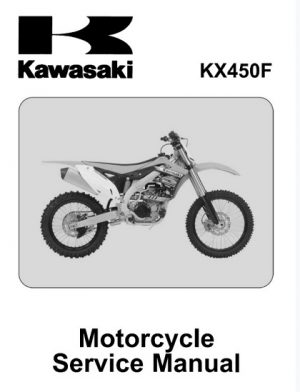 2012-2013 Kawasaki KX450f Service Repair Manual