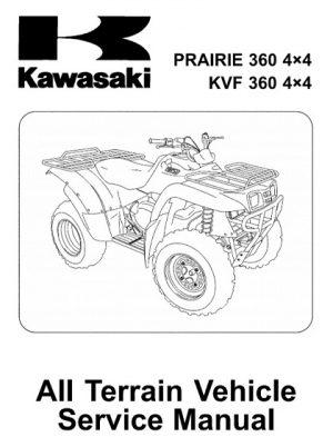 2003-2013 Kawasaki Prairie 360, KVF 360 Service Manual