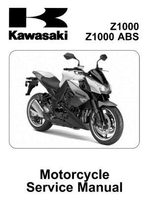 2010-2013 Kawasaki Z1000, Z1000 ABS pdf