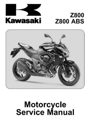 2013 Kawasaki Z800, Z800 ABS Service Repair Manual