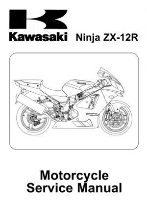 2002-2006 Kawasaki Ninja ZX-12R ZX1200 Service Manual