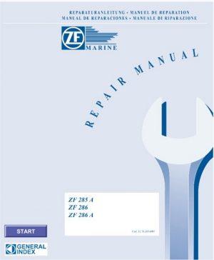 ZF Marine ZF 285 A, ZF 286, ZF286 A Service Repair Manual