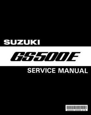 1989-1999 Suzuki GS500E Service Repair Manual