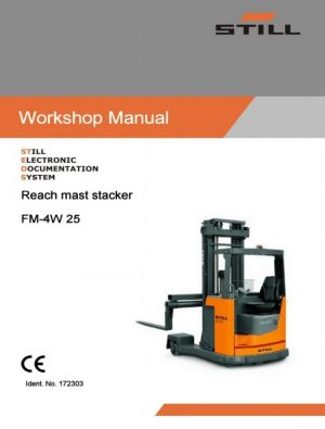 Still FM-4W 25 Forklift Service Repair Manual