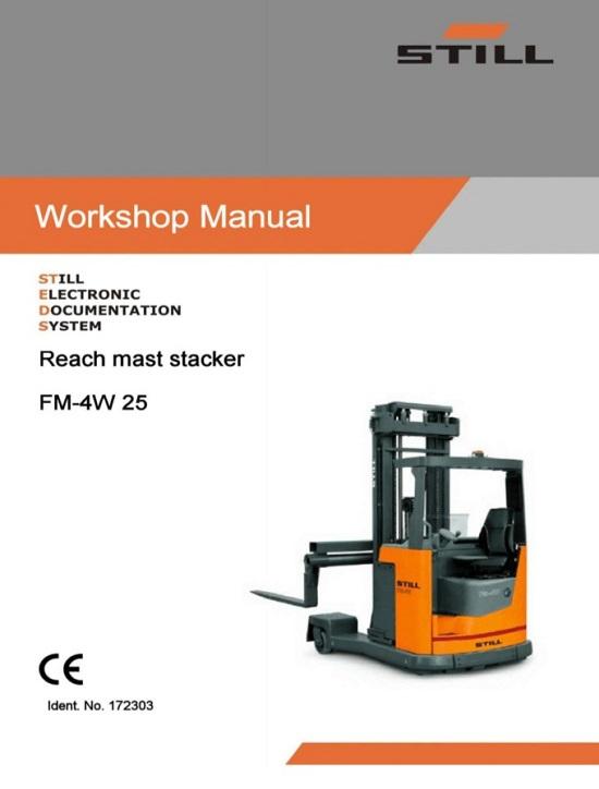 Still FM-4W 25 Forklift Service Repair Manual