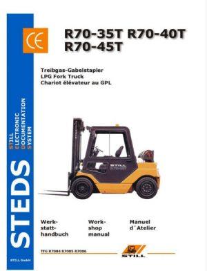 Still R70-35T, R70-40T, R70-45T LPG Fork Truck Service Manual