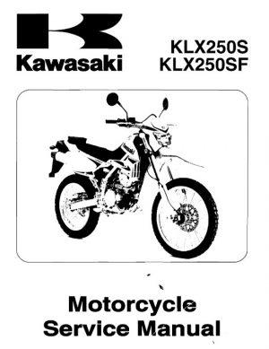 2009 Kawasaki KLX250S KLX250SF Service Manual