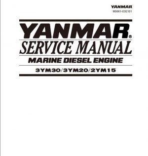 Yanmar 3YM30 3YM20 2YM15 Marine Diesel Engine Service Manual