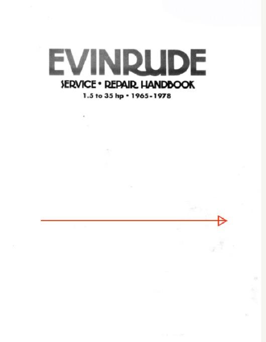 1965-1978 Johnson Evinrude 1.5 HP-35 HP Outboard Service Manual